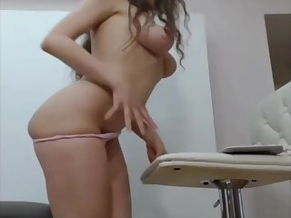 Latina Teen More Staggering Body Pleasured (masturbating with vibrator)