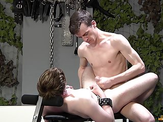 Twinks love the rough anal with the addition of the merciless BDSM