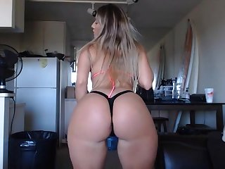 blonde stepsister with big swag having fun mainly webcam