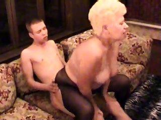 Mediocre BBW Granny Fucked By Her Younger Lover