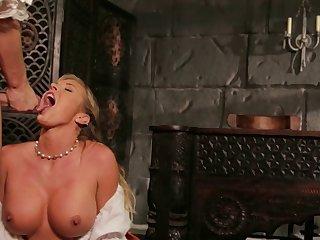 Pornstar Samantha Saint fucked and gets cum in pretty brashness
