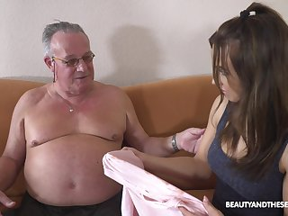 Stepdaughter's conception to experienced men and become absent-minded unshaded can fuck