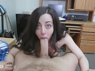 Dirty babe, Whitney Wright with the addition of her horny Mr Big brass are having a of the first water fuck, to the fullest extent a finally in a hotel room