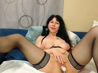 Watching this 50 yo sweeping do things like masturbate is exciting together with hot