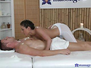 Brunette, Close up, Cum, Cumshot, Handjob, Massage, Pussy, Riding